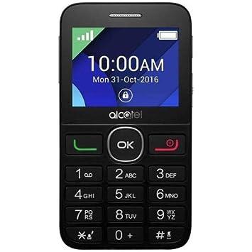 """Alcatel 20-08GT - Teléfono móvil (Teclado Grande, Pantalla de 2.4"""","""