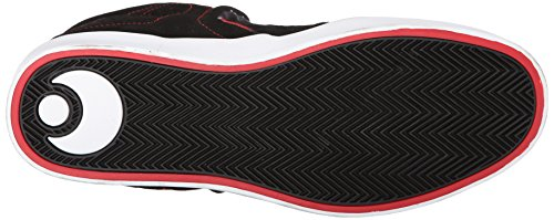 OSIRIS D3 V red Black white Negro - negro