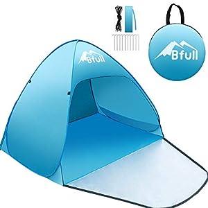 Bfull Tenda Da Spiaggia Per Esterni Portatile Con Protezione Solare Per 1 o 2 Persone, Apertura Istantanea Pop-up Colore… 1 spesavip