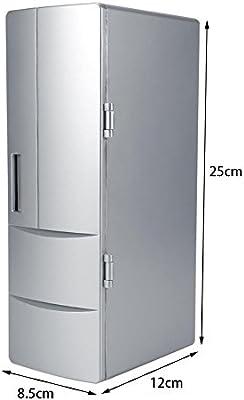 GOTOTOP Compacto Mini USB Multifuncional 2 en 1 Refrigerador ...