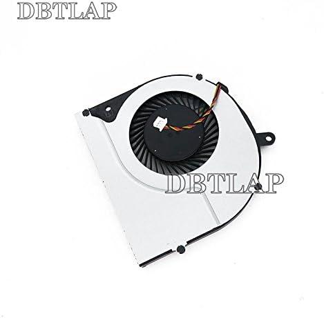 DBTLAP Fan Compatible for Toshiba Satellite L50-A-173 L50-A-18R L50-A-19M L50-A-19P L50-A-1CE P50-A P55-A P50T-A P55T-A S50 S55 L50-A-10Q L50-A-19N L50-A-165 CPU Fan 3 Wires