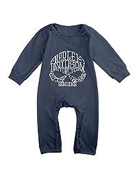 Cute Harley Davidson Climbing Clothes For Toddler Navy