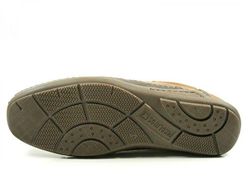 Pikolinos 06H-3087C1 Azores Zapatos Mocasines de cuero para hombre Braun
