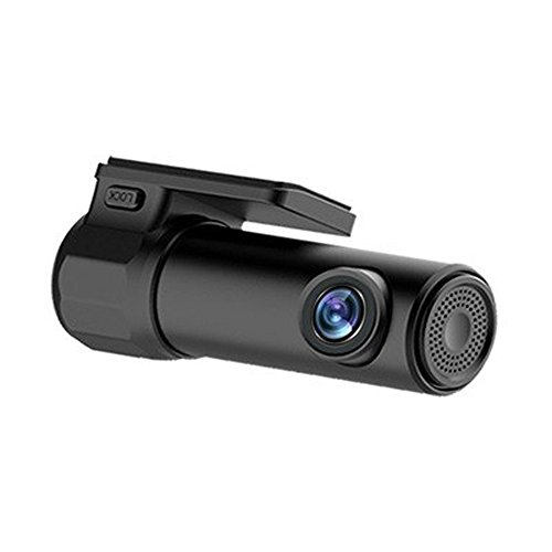 Junshion Dash Cam Wi-Fi Car DVR 1080P 30fps Clear FHD Video Dashboard Camera On-site Instant Social Media Sharing Video, Night Vision,Parking Monitor,G-Sensor,Motion Detection,WDR,Looping Record.
