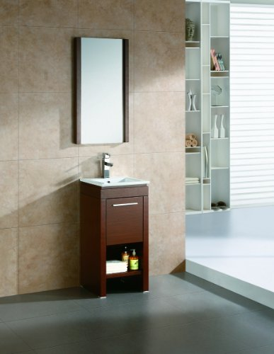 Wood Vanity Set by Fine Fixtures