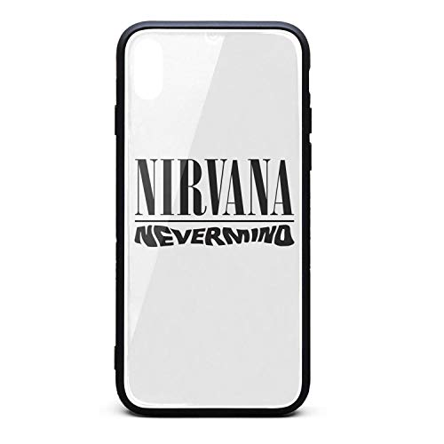 iPhone Xs/iPhone X Case Nirvana-Band-Rock-Band- Slim Soft TPU Protective for iPhone Xs/iPhone X