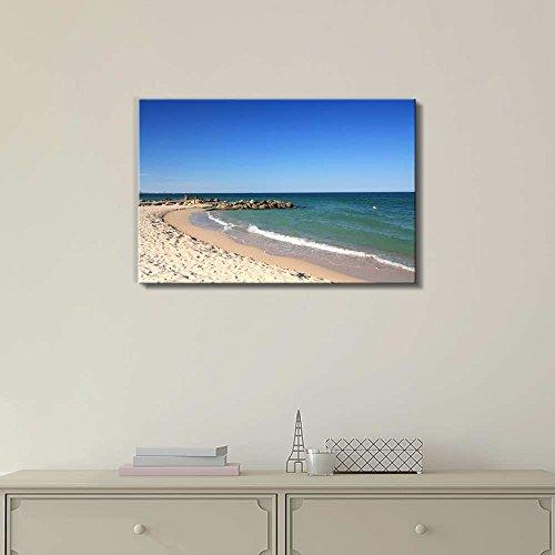 Calm Beach on a Warm Sunny Day Home Deoration Wall Decor