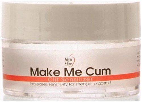 Adam & Eve Make Me Cum Clitoris Sensitizer Female Orgasm Cream .5oz Jar (1) ()