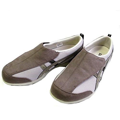 反対する平手打ち険しい[アシックス] 【履くほどに愛着が湧く、手放せない1足になりそう。】asics ライフウォーカー FLC101 メンズ シニア世代 健康志向 介護靴 介護シューズ リハビリサポートシューズ ライトグレー×ベージュ(1364)