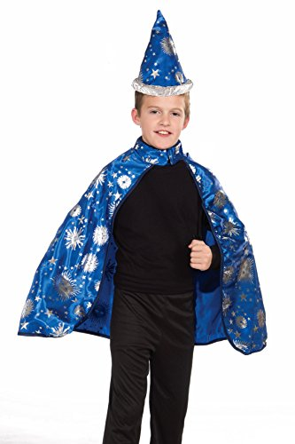 Forum Novelties Lil Wizard Cape and Hat Child's Costume, Toddler]()