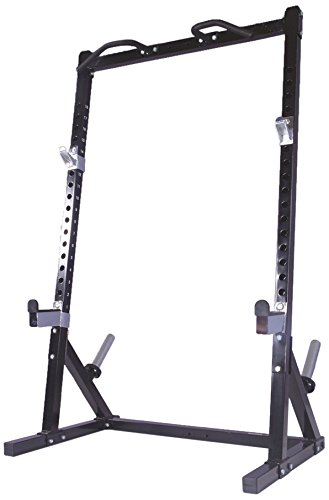 Powertec Fitness Workbench Half Rack Black