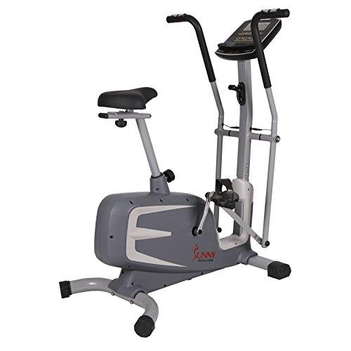 Sunny Health & Fitness Cross Training Magnetic Upright Bike by - SF-B2630 Cross Training Magnetic Upright Bike