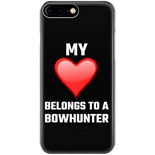 My Heart Belong to A Bowhunter Hunter Hunting Bow Deer Venison Buck - Phone Case Fits iPhone 6 6s 7 8