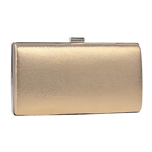 Chaîne à Sac Clutch Fête pour Pochette Bal Main Bourse Sac Maquillage Bandouliere Mariage Soirée Femme Gold XRpRxvqU