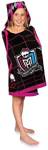 Monster High Hooded Towel Wrap