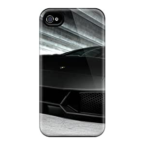 Excellent Iphone 4/4s Case Tpu Cover Back Skin Protector Road Interception