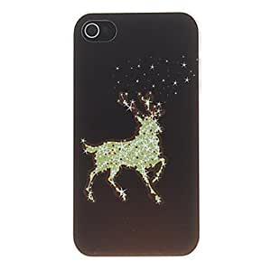 comprar Wapiti diseñado especial en el patrón oscuro que hiela la caja dura de la PC para el iPhone 4/4S