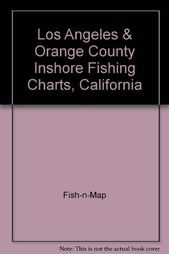 Los Angeles & Orange County Inshore Fishing Charts, California