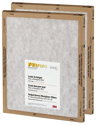 20x20x1, Filtrete Air Filter, MERV 3, by - Basics Flat Panel Shopping Results