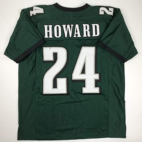 - Unsigned Jordan Howard Philadelphia Green Custom Stitched Football Jersey Size Men's XL New No Brands/Logos
