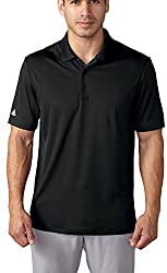 adidas Golf Men's Performance Polo Shirt, Shock Red, Small