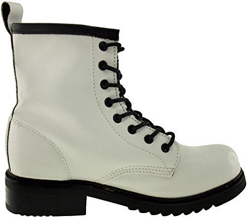 Maxstar Shoes White Boots Middle 303 Walker wST0C4