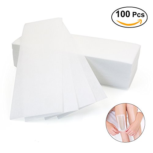 Sexybeauty Non Woven Hair Removal Waxing Strips Boby Facial Epilating Strips 100 Pieces