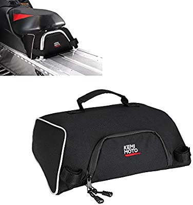 OEM 2876427 kemimoto Snowmobile UnderSeat Bag Water-resistant Large Capacity Snowmobile Storage Bags Fits Polaris Indy 550 600 800 RMK 800 Pro RMK 600