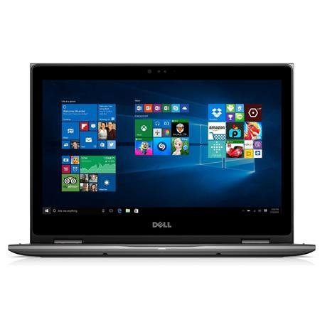 Dell inspiron 5000 2-in-1 13.3'' Full HD Touchscreen Flagship High Performance Laptop PC | Intel Core i7-6500U | 16GB RAM | 256GB SSD | Backlit Keyboard | Waves MaxxAudio | Media Drive | Windows 10 by Dell
