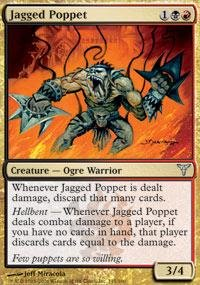 Magic: the Gathering - Jagged Poppet - Dissension