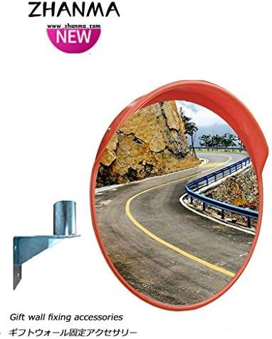 カーブミラー アウトドア交通安全ミラー道路広角凸面鏡コーナー曲面ミラー凸面鏡盗難防止ミラー、取付金具を送ります RGJ4-18 (Size : 1000mm)