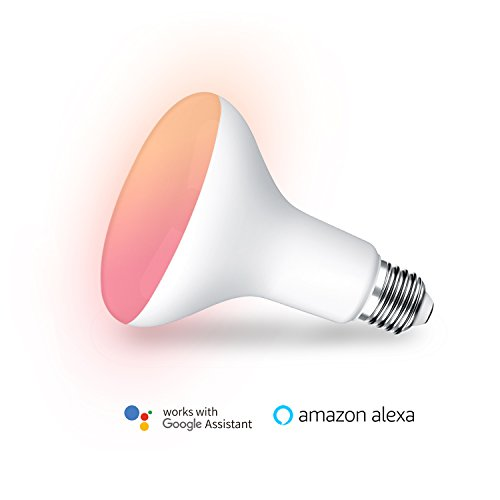 MagicLight WiFi BR30 LED Flood Light Bulb, Tunable White & Color Changing Recessed LED Flood Light Bulb, Compatible with Alexa & Google Home Assistant