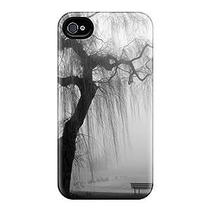 New Design Shatterproof YKCfIjJ3615VKgvu Case For Iphone 4/4s (willow)