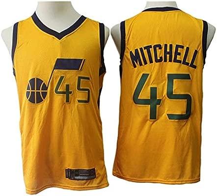 Camisetas de Baloncesto for Hombre NBA Utah Jazz Donovan Mitchell ...