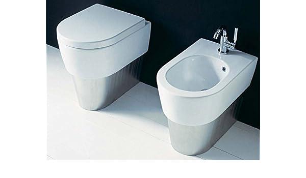 Sanitarios Flaminia minilink sanitarios de cerámica 5064 a + 5065 a + 5051cw04: Amazon.es: Hogar