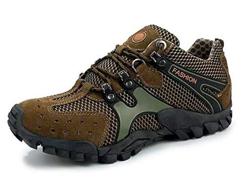 Mode Outdoor Wanderschuhe Mesh Schuhe Kollisionsvermeidung Saugen Schuhe Spring Style Sport Herrenschuhe Green