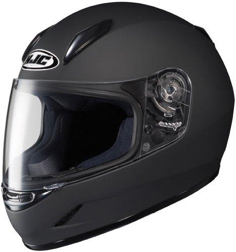 HJC Helmets CL-Y Youth Helmet (Matte Black, Small)