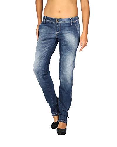 MELTIN'POT - Women's Jeans MELIE - Skinny Fit - Length 31 - Blue, W31
