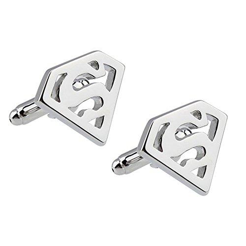 Zealmer 316L Stainless Steel Cufflinks Shirt Studs Business Wedding Gifts for Men (316l Stainless Steel Men Cufflinks)
