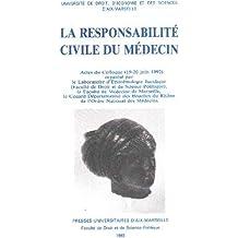 La responsabilité civile du medecin