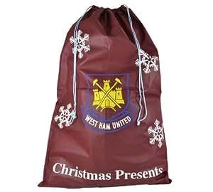 West Ham United Christmas Santa Sack