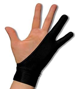 SmudgeGuard Tablet glove 2, M - Accesorio para portátil (M) Negro