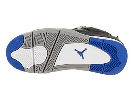 Uomo Retro in 006 Jordan Scarpe BG Nera Nike Air Pelle 4 408452 qXax5BfnUw