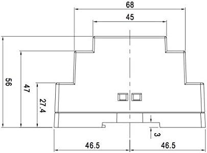 entr/ée 230/VAC Rail DIN MeanWell/ /Alimentation LED de 12/V 100/W