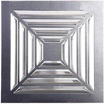 XDDDX 排気ファン、ウォールホーム浴室台所用換気扇低ノイズ排気ベントをマウント