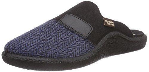 Pantoffeln Blau 220206 Herren Manitu Blau qnEgaXzxF