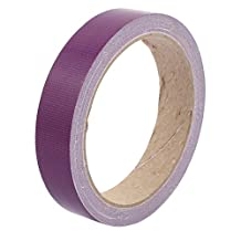 uxcell® 20mm Width Purple Strong Single-sided Duct Tape Waterproof Wear-resisting No Trace 10M Length