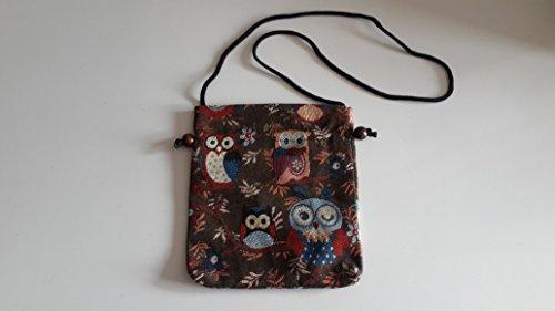 Price comparison product image Thaienjoy - Cotton Bags Owl 23x20 cm.