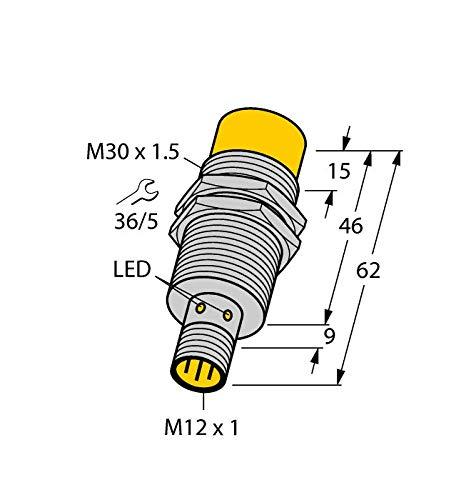 Carus Tool TURCK NI30U-M30-AP6X-H1141 1646631 Inductive sensor PNP by Carus Tool