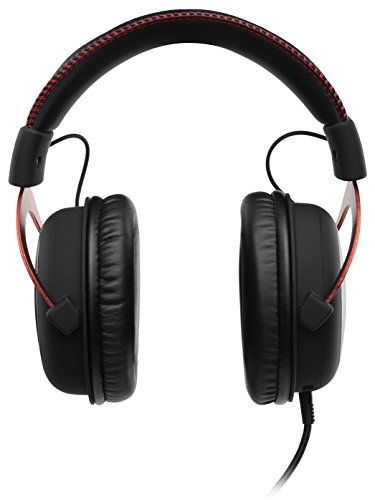 41cdk2K7niL - HyperX Cloud II Gaming Headset for PC & PS4 & Xbox One, Nintendo Switch - Red (KHX-HSCP-RD)